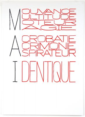 Delphine Coindet / Calendrier Anarchiste (Mai) / TCHIKEBE / 2013
